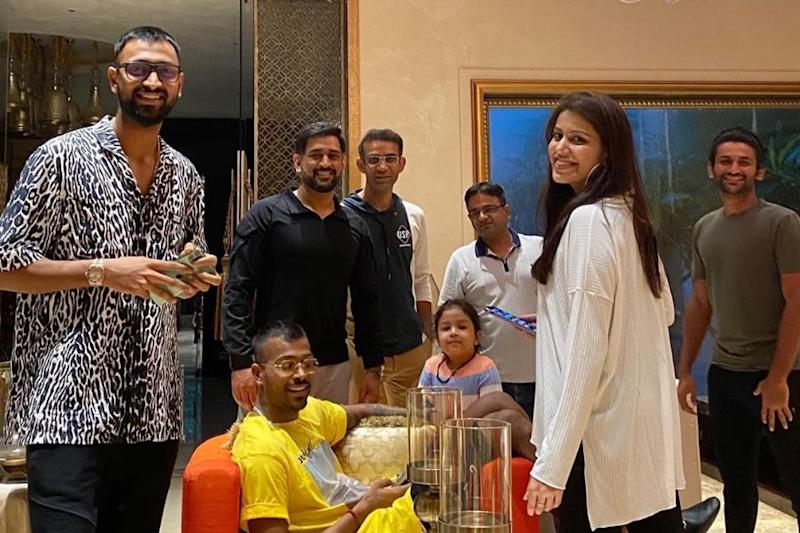 Sakshi Dhoni Shares Pic from MS Dhoni's 39th Birthday Celebration