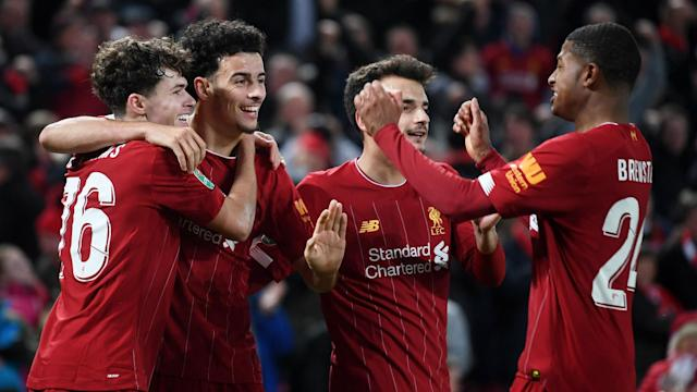 The 18-year-old was handed a rare start but grasped his opportunity with a match-winning strike to edge the Reds past their Merseyside rivals