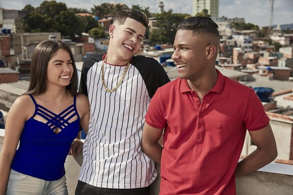 """<p>In this Brazilian drama, three friends since childhood - Nando, Doni, and Rita - take different paths in their teens in an attempt to distance themselves from their São Paulo backgrounds. However, no matter how far they travel from home, they still must rely on one another to avoid self-destruction. <a href=""""http://twitter.com/NetflixBrasil/status/1221170752050864129"""" class=""""link rapid-noclick-resp"""" rel=""""nofollow noopener"""" target=""""_blank"""" data-ylk=""""slk:Season two is officially happening"""">Season two is officially happening</a>, though it's unclear when we can expect to see it. </p> <p><a href=""""http://www.netflix.com/title/80217315"""" class=""""link rapid-noclick-resp"""" rel=""""nofollow noopener"""" target=""""_blank"""" data-ylk=""""slk:Watch Sintonia on Netflix now"""">Watch <strong>Sintonia</strong> on Netflix now</a>.</p>"""