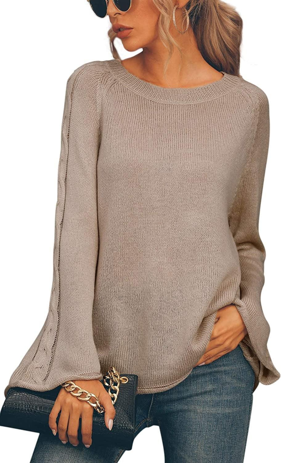 <p>Ooh, look at the detail on the bell sizes of this lightweight <span>Hibluco Flare Sleeve Pullover</span> ($25)?!</p>