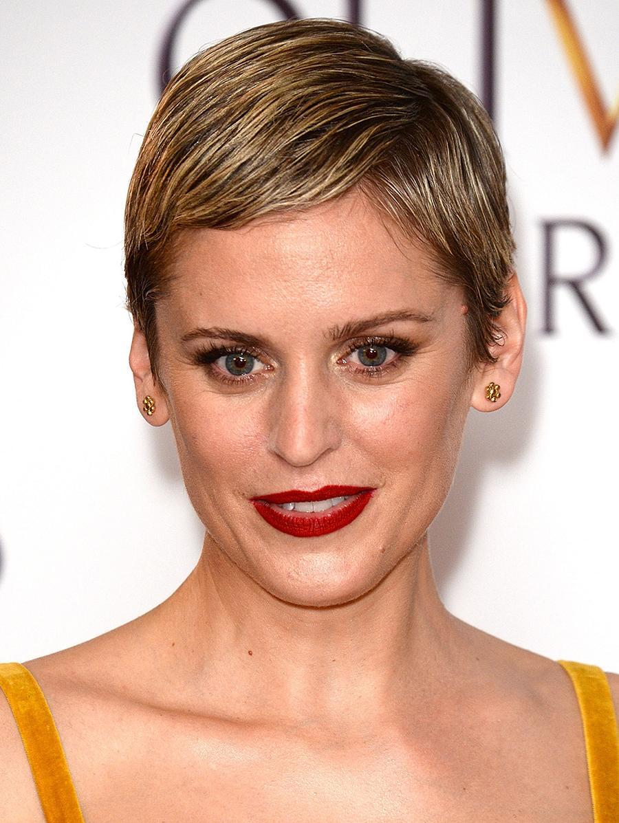 <p>The Irish actress put her on spin on the wet hair trend by mashing it up with this popular celebrity haircut. (Photo by Eamonn M. McCormack/Getty Images) </p>
