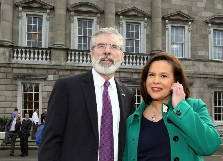 Mary Lou McDonald was the sole nominee to take over from Gerry Adams as Sinn Fein president