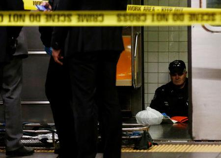 NY subway death: Person shoved in front of train