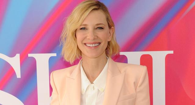 <p>Cate Blanchett is all aglow at the SK-II Change Destiny limited series launch in New York City. (Photo courtesy of SK-II) </p>