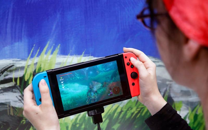 The current Nintendo Switch model has sold over 20m units worldwide - Getty Images Contributor