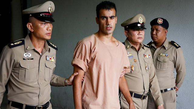Hakeem al-Araibi has been freed by Thailand after international backlash. (Australian Associated Press)