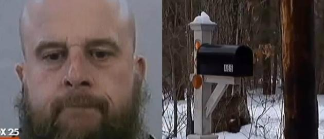 High school teacher arrested for dry humping his mailbox in the nude