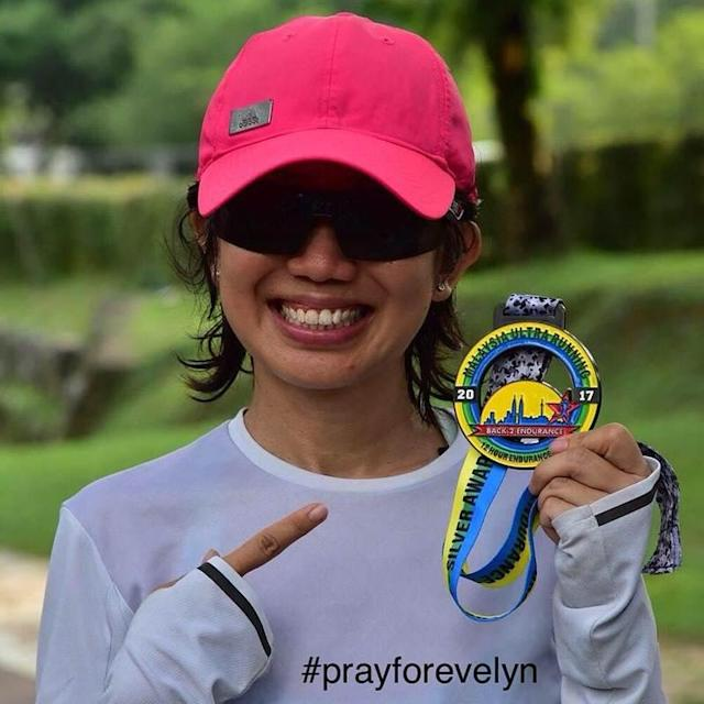 Ang was knocked down in a case of hit-and-run while participating in the Klang City International Marathon in December last year. — Picture via Facebook/Marathon Malaysia
