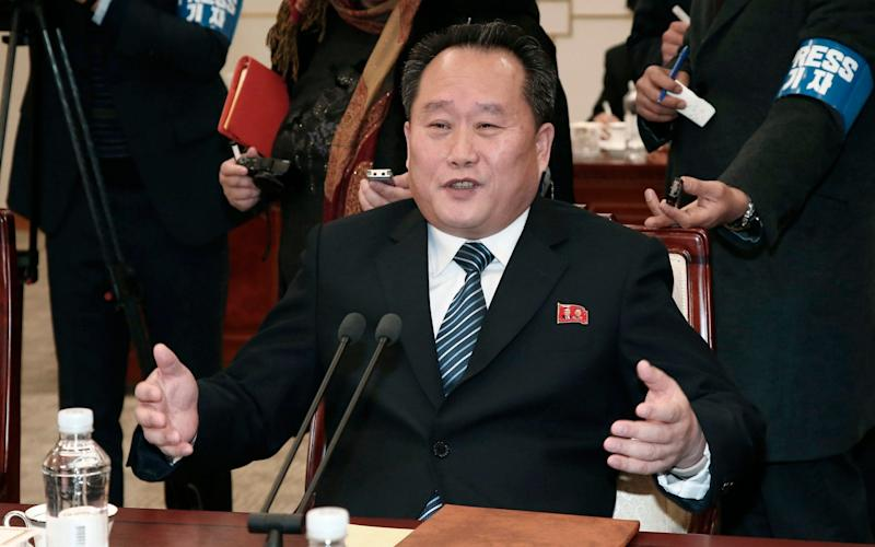 Ri Son Gwon has little experience in dealings with the United States - Korea Pool