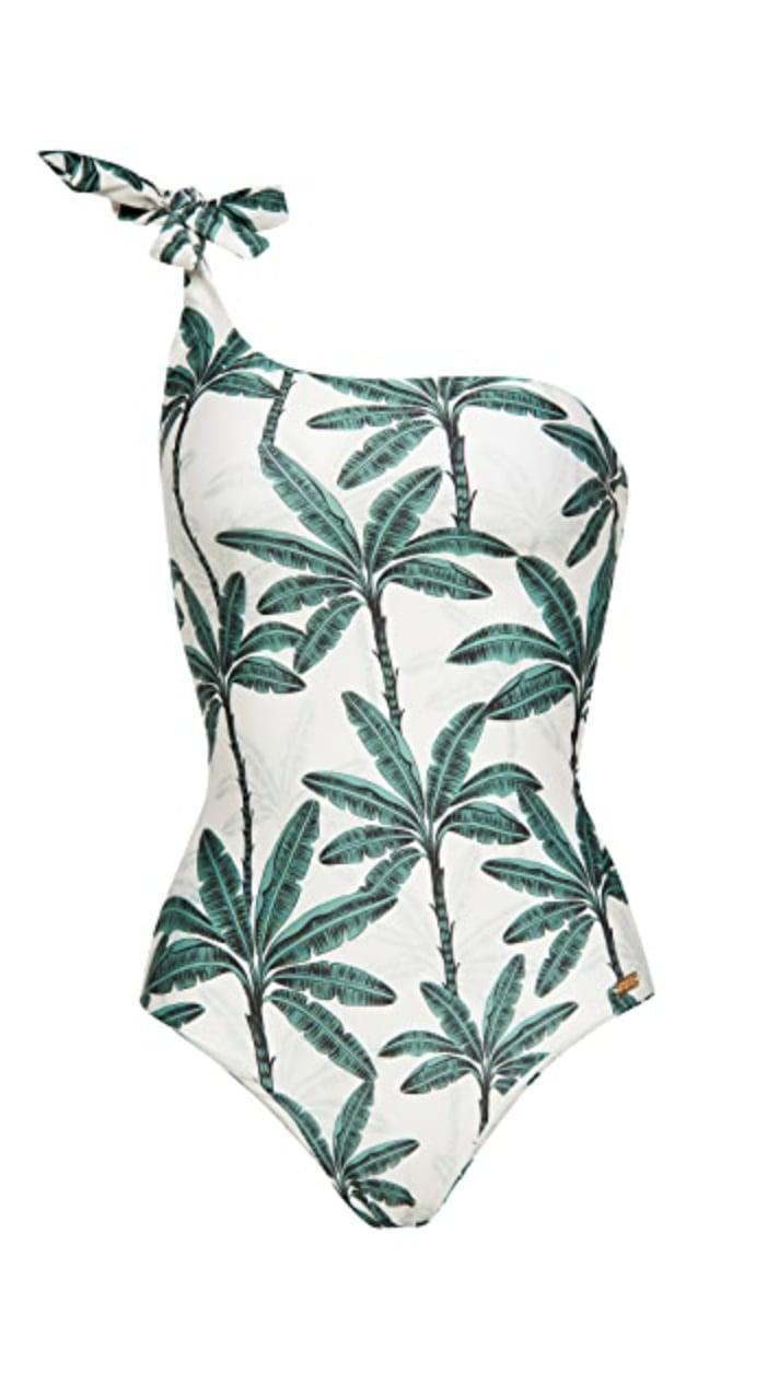 <p>This eye-catching <span>Palmacea Tayro 43 One Piece</span> ($113) will transport you to a tropical escape.</p>