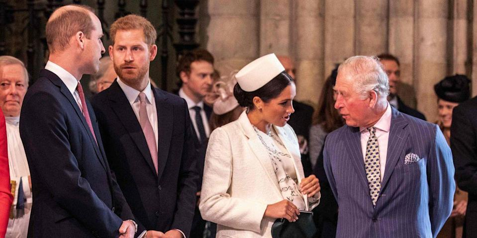"""Prince Charles and Prince William Didn't Think the Sussexes Were """"Serious"""" About Leaving"""