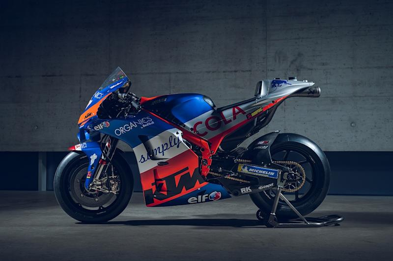 KTM's and satellite squad Tech3's liveries revealed
