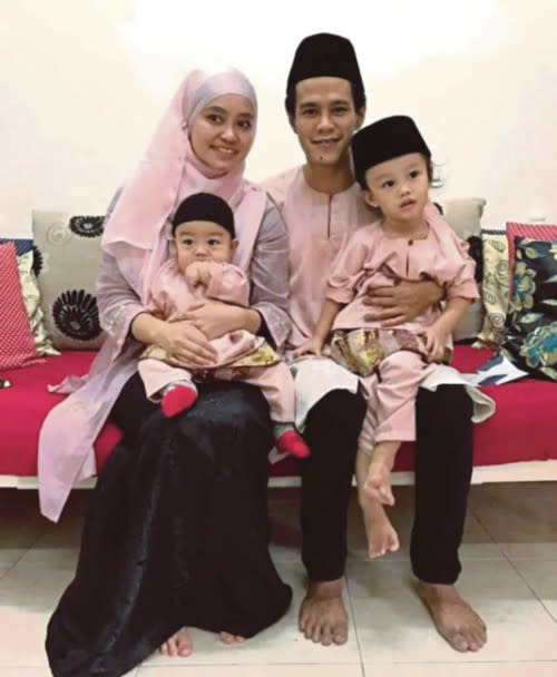 Ude and Intan have two children together
