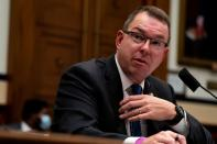 FILE PHOTO: U.S. Federal Emergency Management Agency (FEMA) Administrator Peter Gaynor testifies before the House Committee on Homeland Security meeting on Capitol Hill in Washington