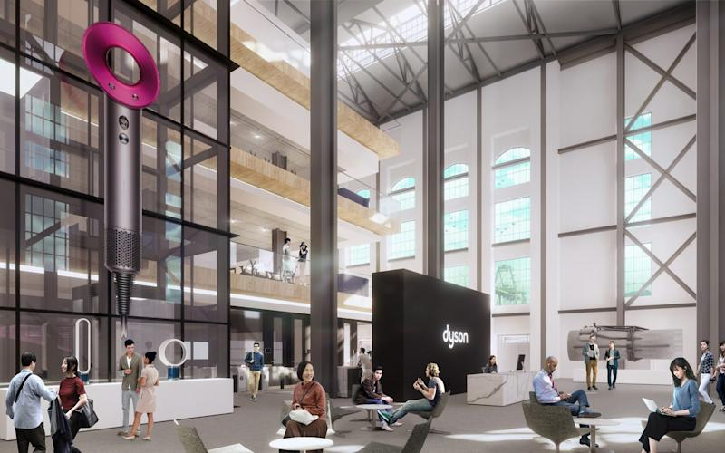 Dyson's concept image for its new headquarters
