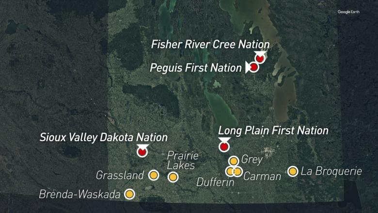 Flooding prompts evacuations in 4 First Nations, states of emergency in Manitoba communities