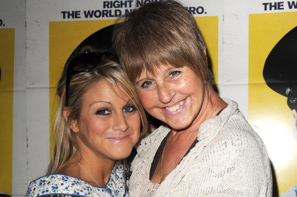 <p>Nikki and her mother Sue</p> (PA)