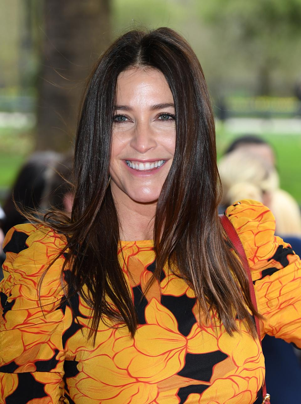 Lisa Snowdon attends the TRIC Awards 2020 at The Grosvenor House Hotel on March 10, 2020 in London, England. (Photo by Karwai Tang/WireImage)