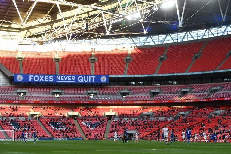 4,000 fans returned to Wembley for Leicester's FA Cup semi-final win over Southampton