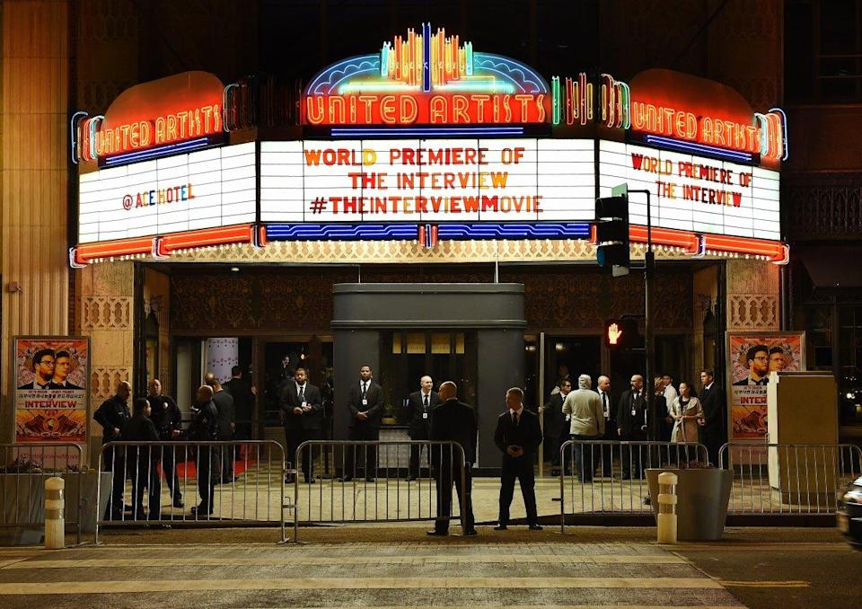 The interview premiere