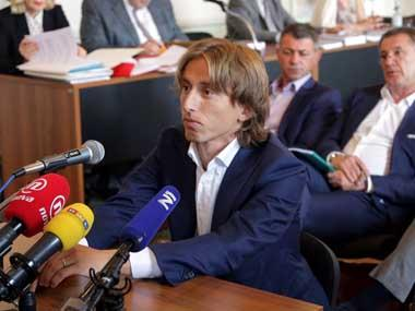 Real Madrid midfielder Luka Modric cleared of perjury charges in trial of former Dinamo Zagreb boss Zdravko Mamic