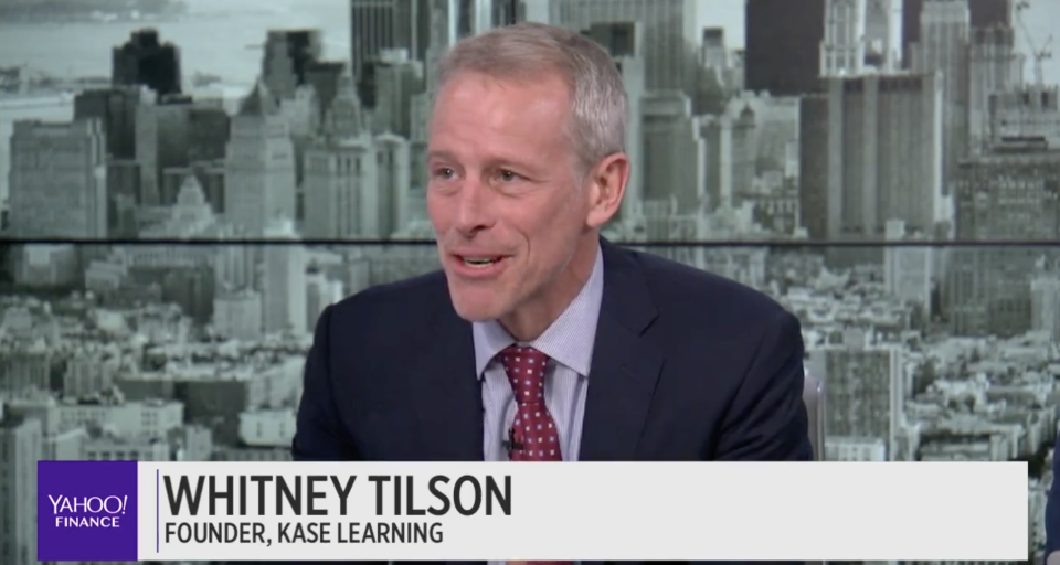 Short-seller Whitney Tilson talks weed stocks on the Final Round. (Photo: screenshot/Yahoo Finance)