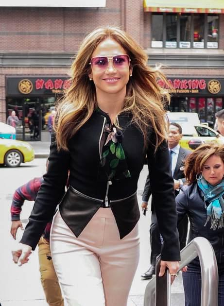 Jennifer Lopez is seen in Times Square on May 15, 2013 in New York City -- Getty Premium
