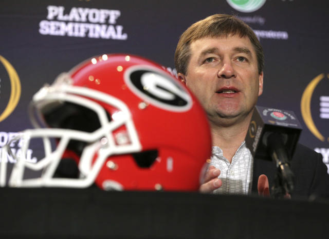 Georgia head coach Kirby Smart has turned the program into a national powerhouse. (AP)