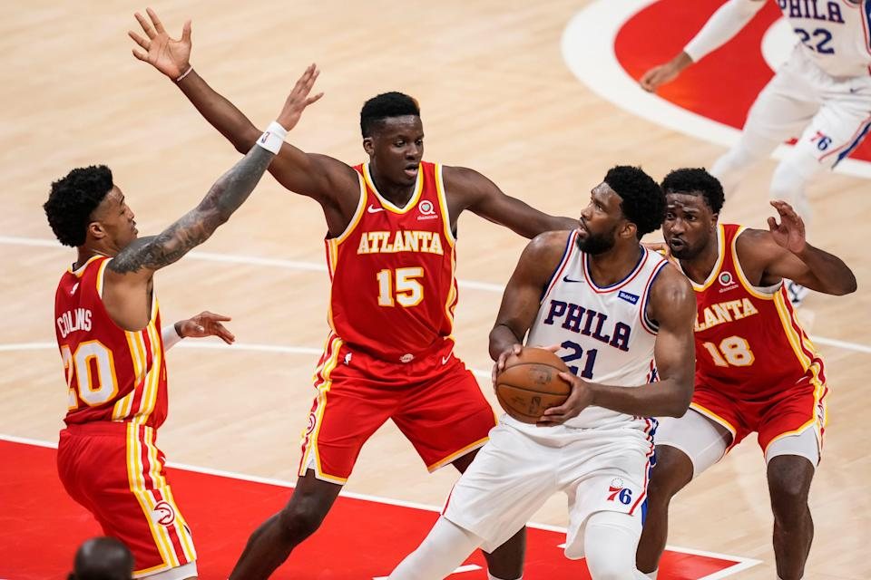 Joel Embiid and the Sixers regained homecourt advantage with their Game 3 win.