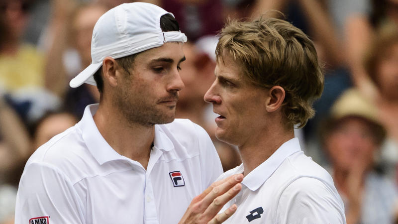Kevin Anderson outlasts Isner in epic Wimbledon 2018 semi-final