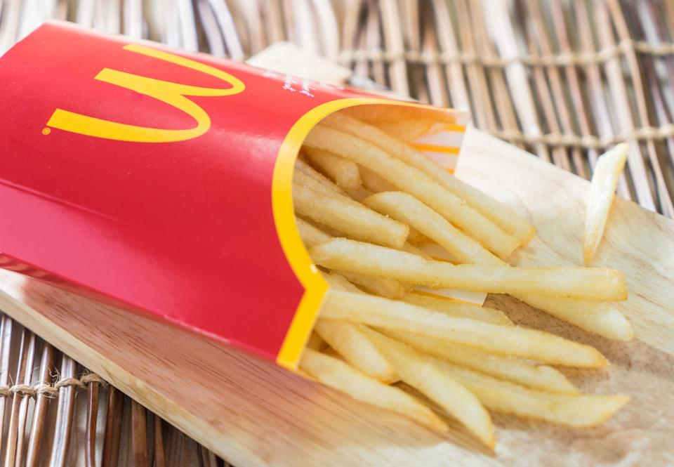 A student was sent to school with McDonald's. Photo: Getty