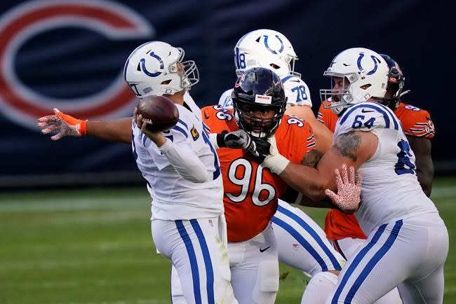 Rivers trying to get back on track for Colts after poor game