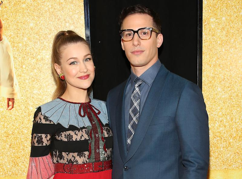 Samberg and his wife, Joanna Newsom, have a baby daughter.  (Monica Schipper via Getty Images)