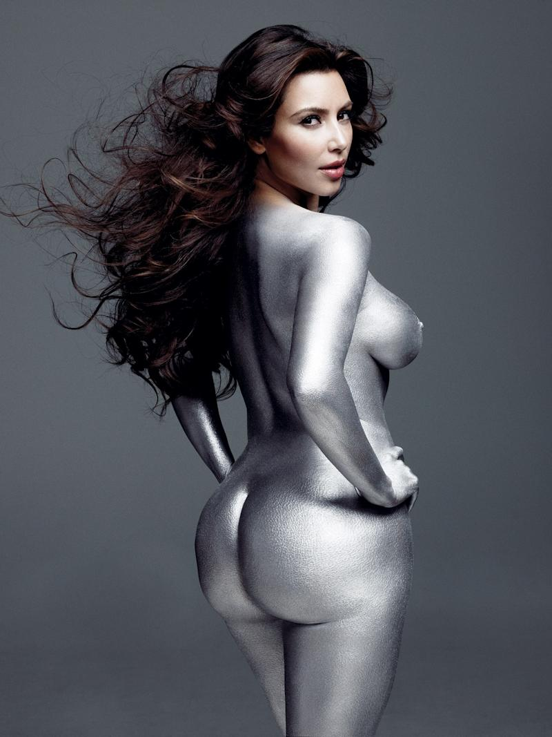 "Kim Kardashian in ""The Art of Reality."""
