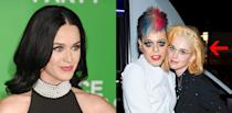 <p><b>When: January 2017 </b><br>Katy Perry was spotted with newly blonde dyed hair at a friend's art show in Palm Springs over the weekend, right before attending a surprise 40th birthday party for her boyfriend Orlando Bloom! The blonde tresses come as a stark contrast to the singer's signature raven locks — but perhaps the singer is trying to mimic Bloom, who also recently dyed his dark hair blonde for a movie role. What do you think of her new 'do? <i> (Photos: Getty/January 2017)</i> </p>