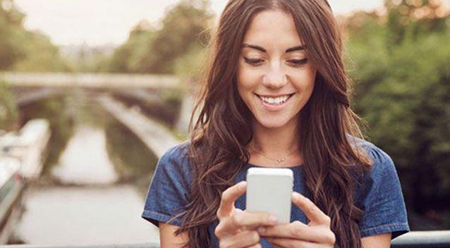 Teens are using the dating app to brag about how many matches they have. Photo: Getty