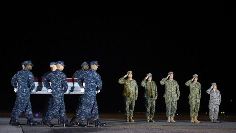 Body of 1st US Service Member Killed in Syria Returned Home