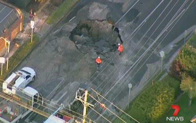 Emergency crews are onsite. Photo: Seven News