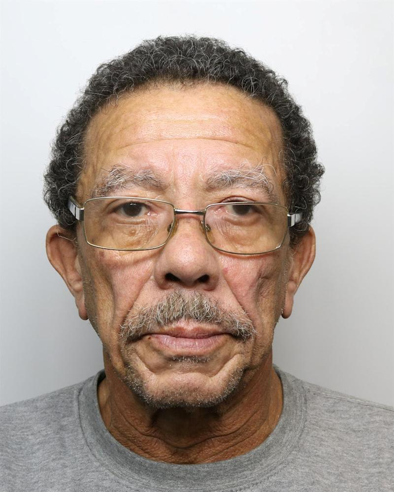 Edward Small has been jailed for life for murdering his dementia-suffering wife of 50 years with a rolling pin and a walking stick (Picture: SWNS)