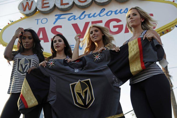 brand new 892e3 21c1d How Adidas, NHL created Vegas Golden Knights' look and logo