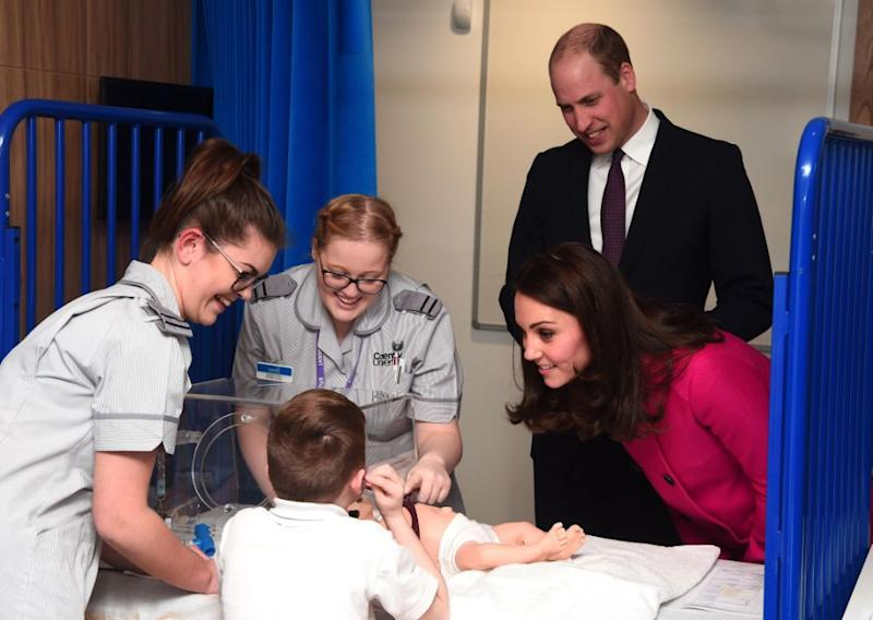 Wills and his wife Kate Middleton are dedicated to raising awareness for various charities. Photo: Getty
