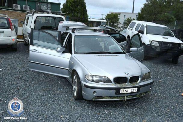 PHOTO: Police say Anthony Stott's vehicle was found abandoned on the M1 highway near the town of Cudgera Creek, Australia, on Feb. 10, 2020. (New South Wales Police Force)
