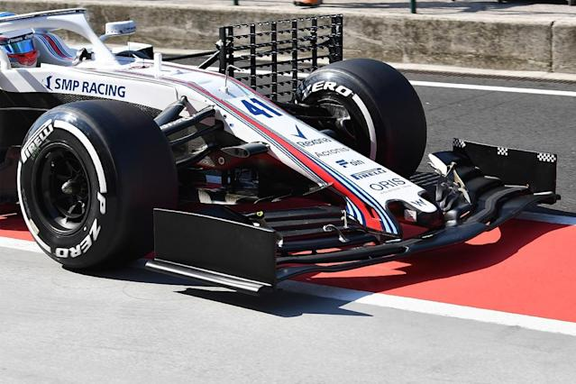 Teams barred from trialling 2019 wings at test