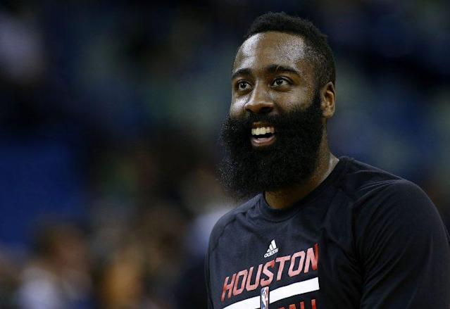 James Harden signed the largest contract extension in NBA history. (Getty Images)
