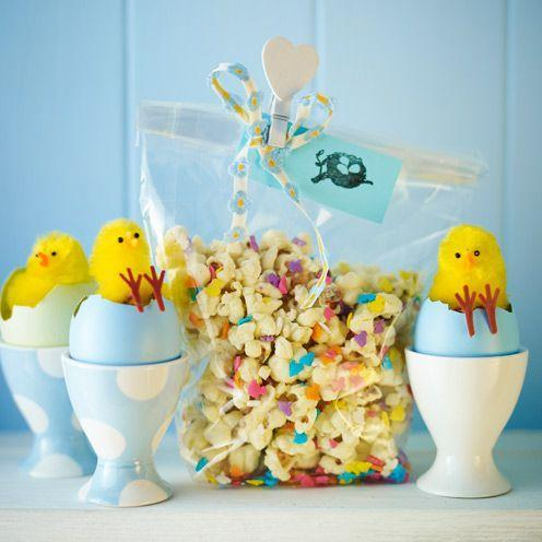 """<p>Next time, try adding Smarties, popping candy or chocolate chips.</p><p><strong>Recipe: <a href=""""https://www.goodhousekeeping.com/uk/food/recipes/a536905/white-chocolate-popcorn/"""" rel=""""nofollow noopener"""" target=""""_blank"""" data-ylk=""""slk:White chocolate popcorn"""" class=""""link rapid-noclick-resp"""">White chocolate popcorn</a></strong></p>"""