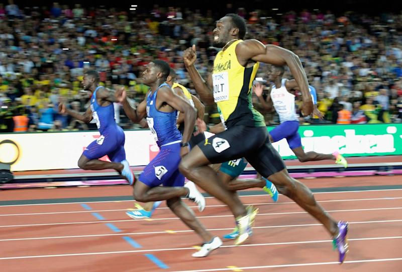 Gatlin and Coleman pip Bolt to the line in London (Getty Images for IAAF)