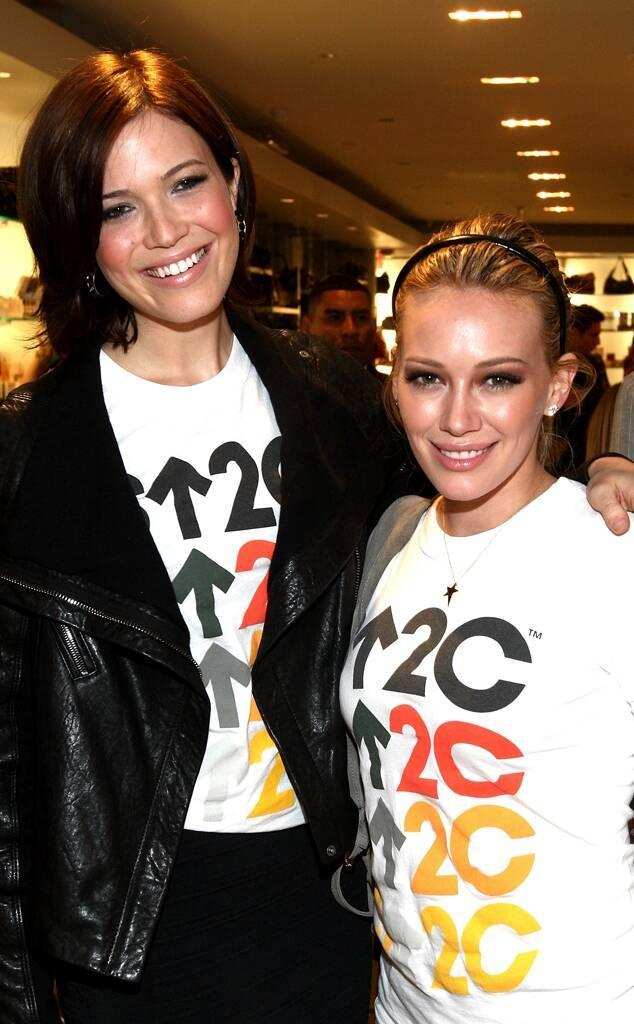 Mandy Moore, Hilary Duff, Stand Up to Cancer Event 2008