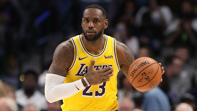 LeBron James reached another milestone in Monday's game against the San Antonio Spurs.