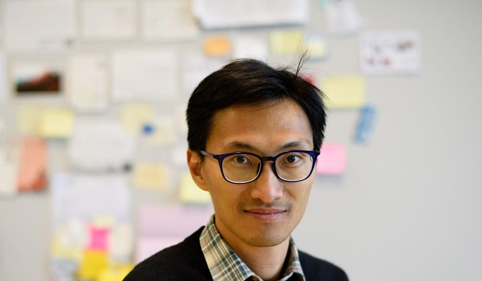 Former lawmaker Eddie Chu has been helping the families of the jailed Hongkongers. Photo: AFP