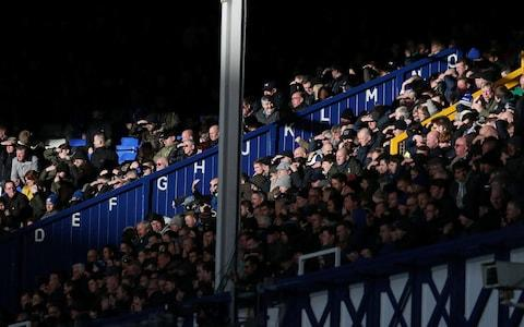 <span>Last month, two Everton fans were given cautions for possession of cocaine</span> <span>Credit: REUTERS </span>